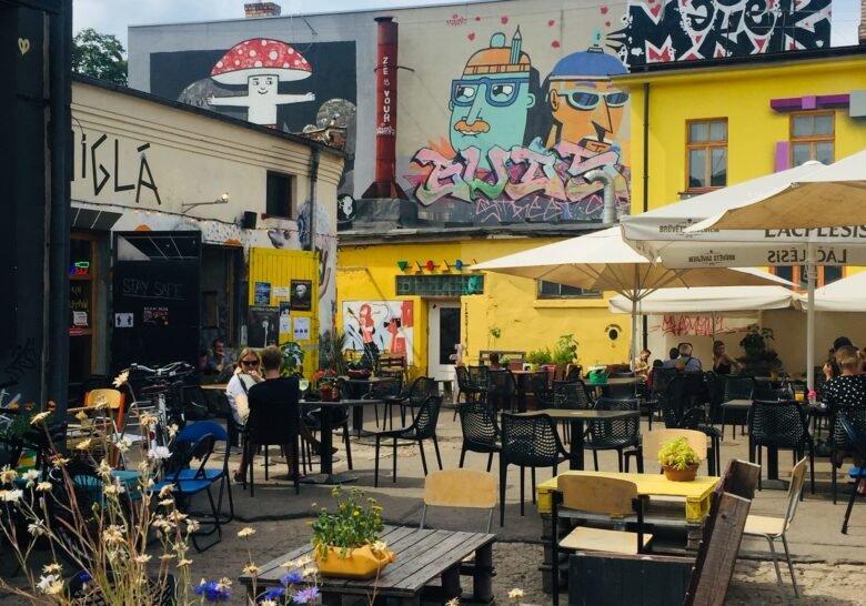 Tallinas Ielas Kvartāls – Hipster and art block