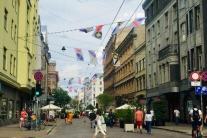 Tērbatas Iela Riga