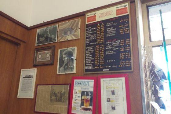 Bar Giolitti – A Testaccio institution