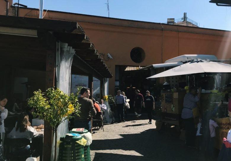 Circo Massimo Farmers Market Rome