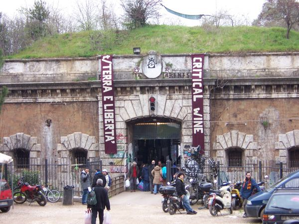 CSOA Forte Prenestino Rome