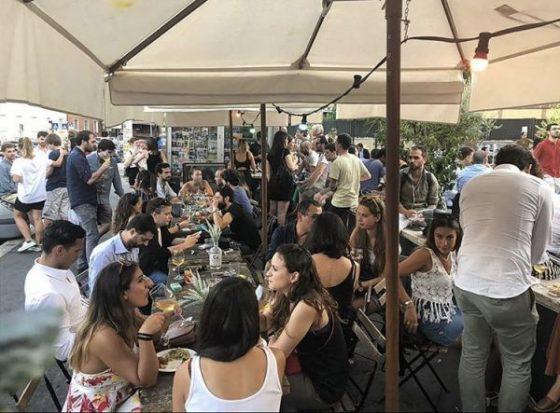 Fischio – Lively summer bar near the Vatican