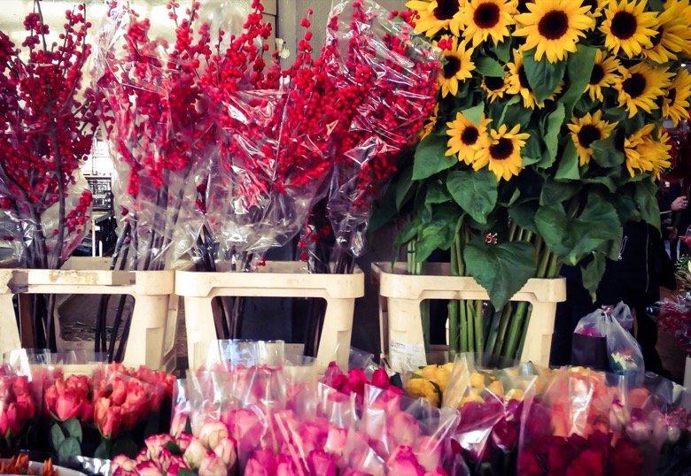 Flower Market Rome