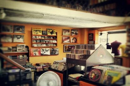 Hellnation Record Store Rome