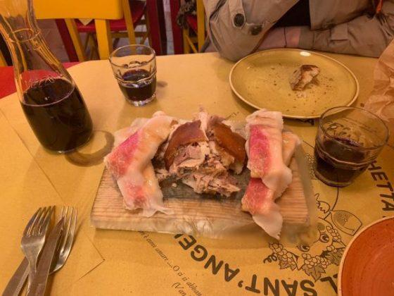 La Fraschetta di Castel Sant'Angelo – Roast pork