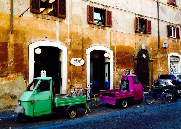 Lettere Caffè Rome
