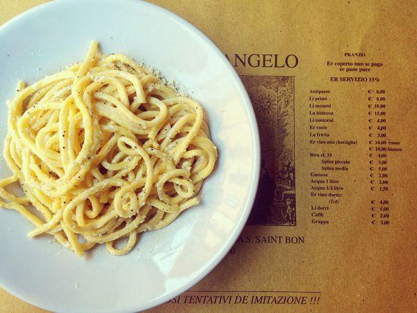 Osteria dell'Angelo Rome