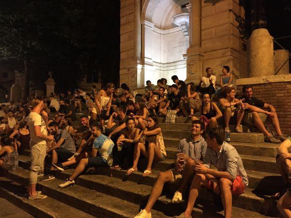 Piazza Trilussa Rome