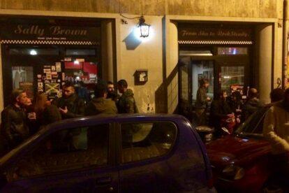 Sally Brown Rude Pub Rome