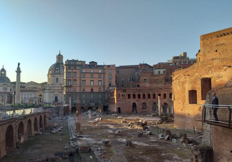 Trajan's Market Walkway Rome