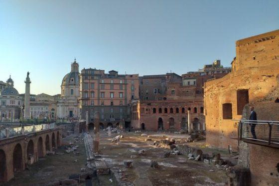 Trajan's Market Walkway – A path through history
