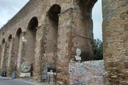 Via Casilina Vecchia Rome