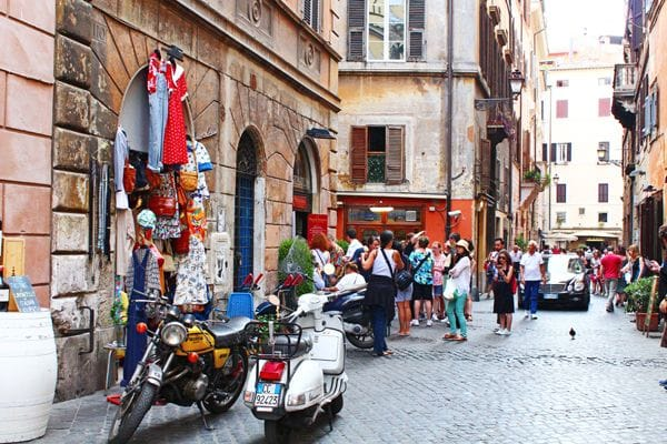 Via del Governo Vecchio Rome