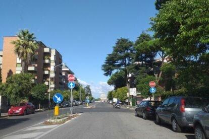 Via Piccolomini Rome