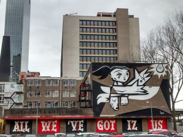 (Colourful) Murals Rotterdam