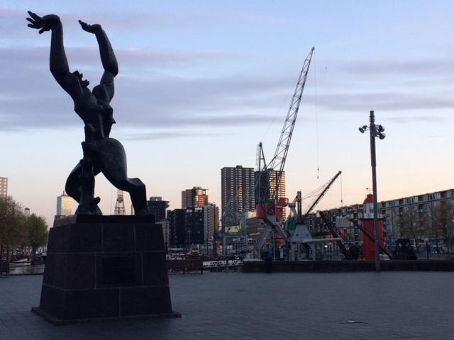 De Verwoeste Stad - By Zadkine Rotterdam