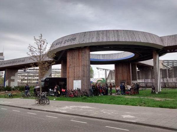 Project Luchtsingel Rotterdam