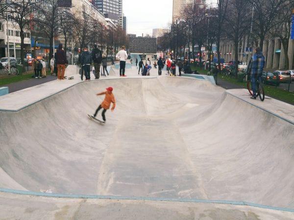 Skatepark Westblaak 2.0 Rotterdam