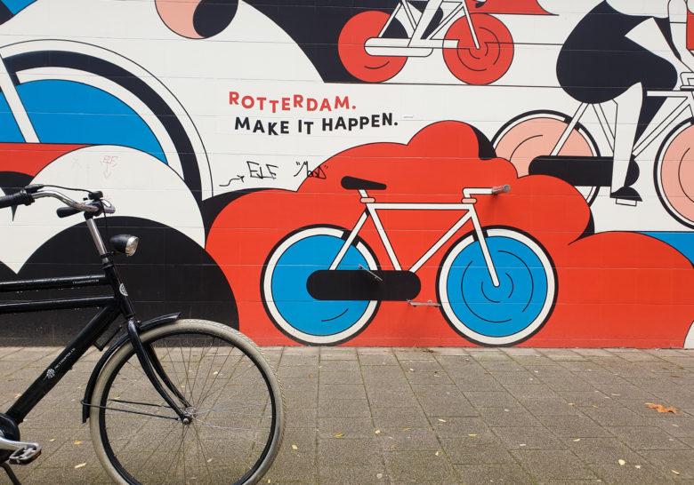 Street Art on Delftsestraat Rotterdam