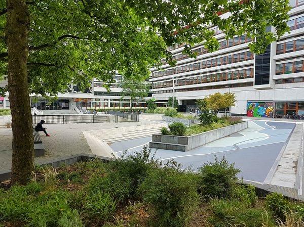 Water Square Benthemplein Rotterdam