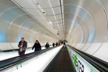 Wilhelminaplein Metro Station – Back to the future