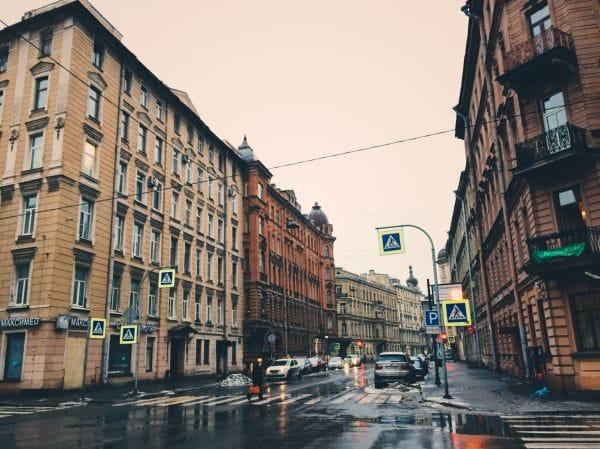 Radishcheva Street Saint Petersburg