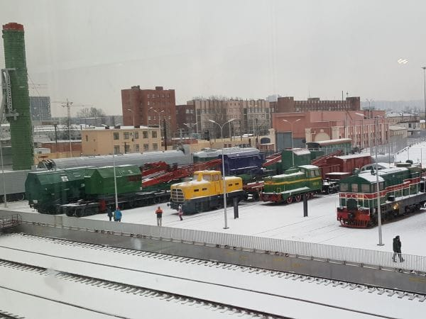 Russian Railway Museum Saint Petersburg