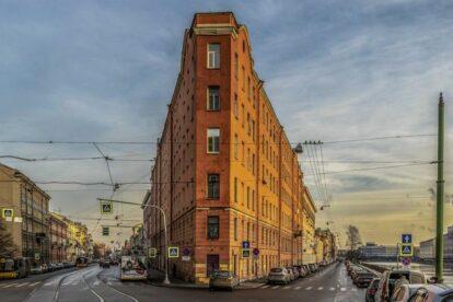 Triangular House Saint Petersburg