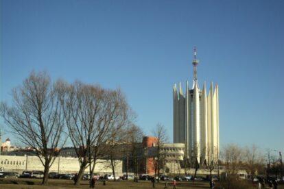 Robotics Centre tower Saint Petersburg