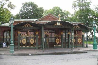 Cabin of Peter I Saint Petersburg