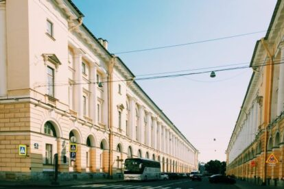 Rossi Street Saint Petersburg