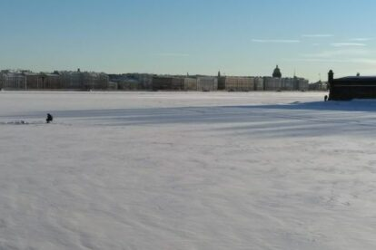 Sunbathers and Swimmers Saint Petersburg
