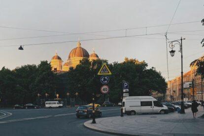 Transfiguration Cathedral Saint Petersburg