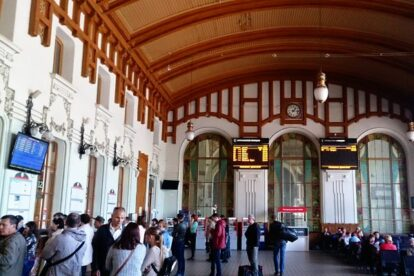 Vitebsky Train Station Saint Petersburg