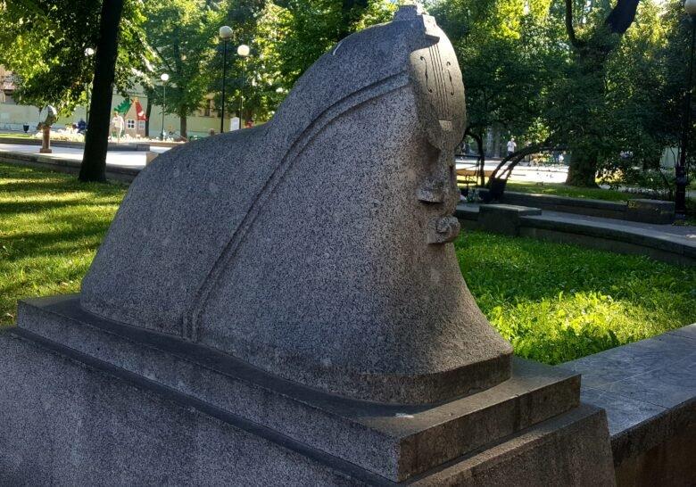Composer Andrey Petrov Garden Saint Petersburg