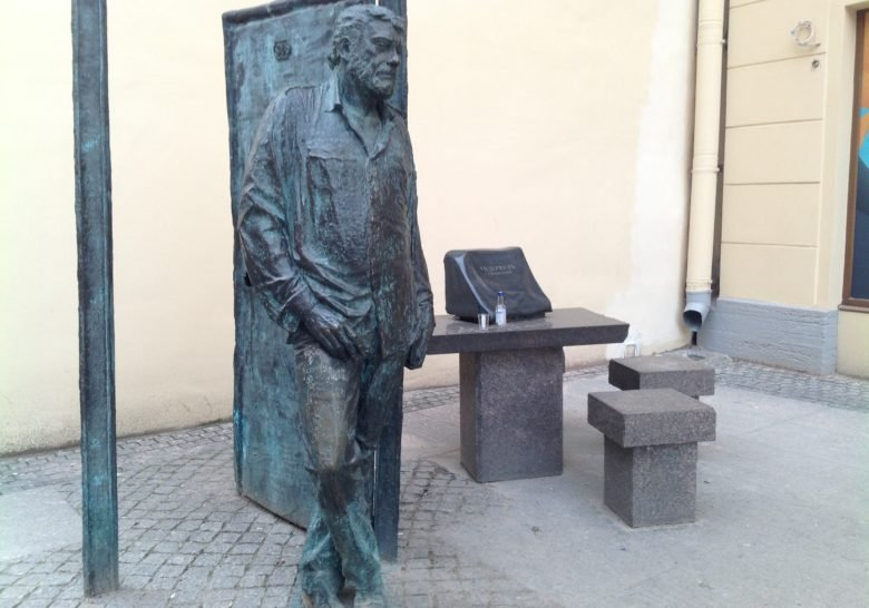 Dovlatov Statue Saint Petersburg