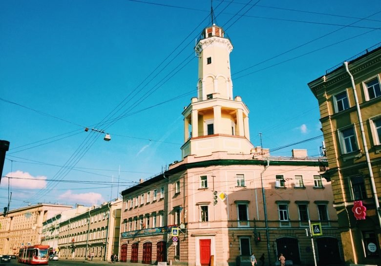 Fire-lookout Tower Saint Petersburg