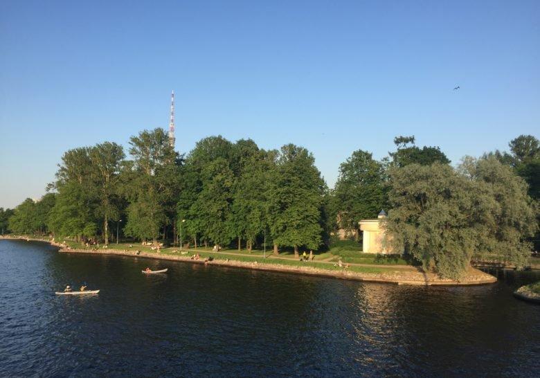Lopukhinsky Garden Saint Petersburg
