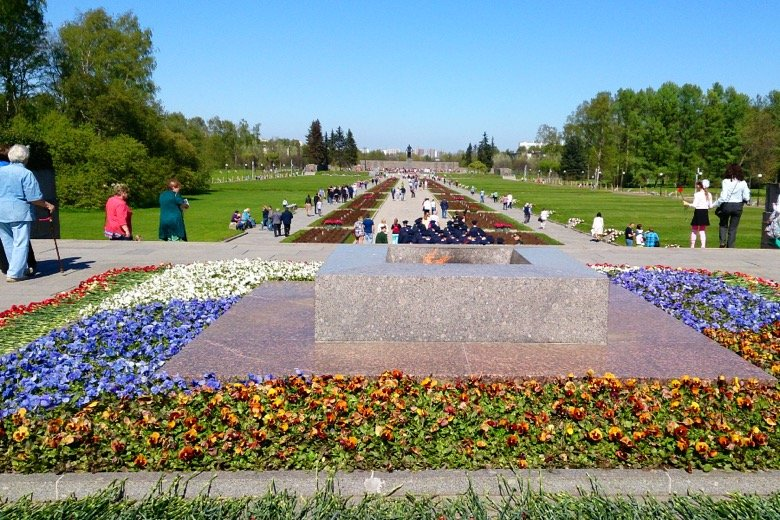 Piskarevskoye Memorial Saint Petersburg