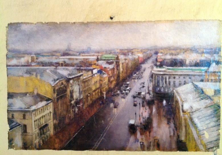 Urban Fresco (Street Art) Saint Petersburg