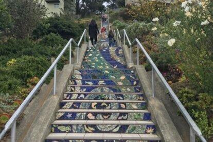 16th Avenue Tiled Steps San Francisco