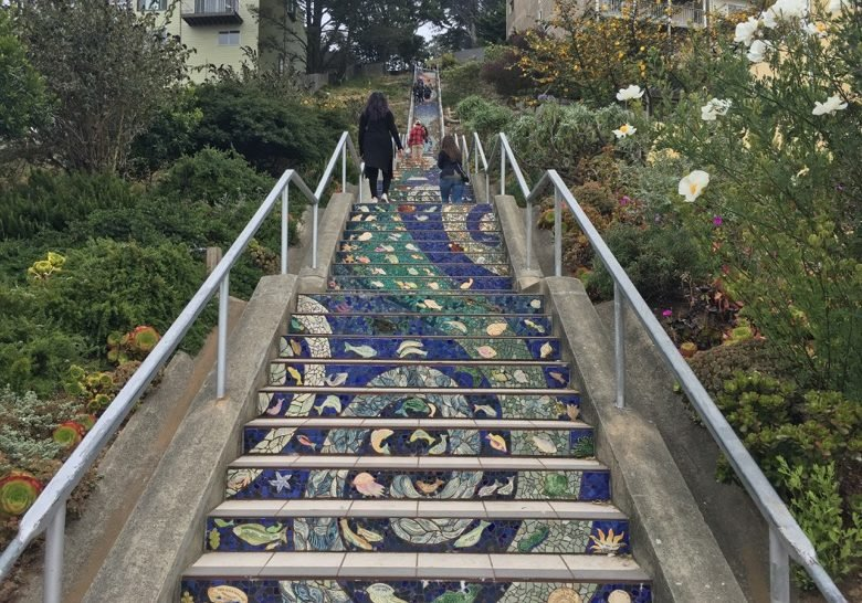 16th Avenue Tiled Steps San Francisco