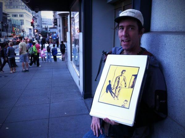 Street Artist San Francisco