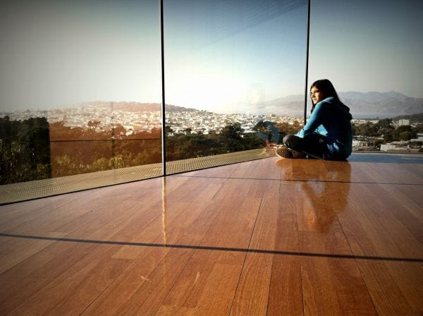 The DeYoung Observation Deck San Francisco