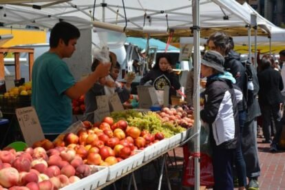 Downtown City Farmers Market San Francisco
