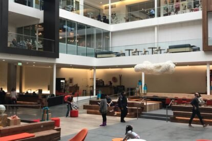 Airbnb Central Atrium San Francisco