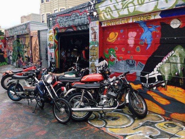 Clarion Alley San Francisco
