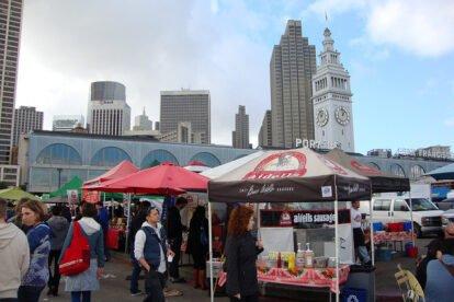 Ferry Building Farmers Market San Francisco