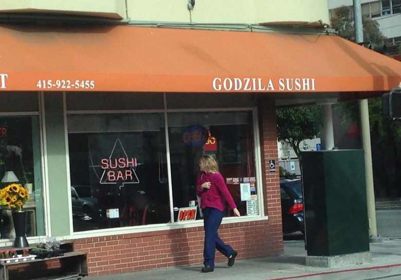 Godzilla Sushi San Francisco