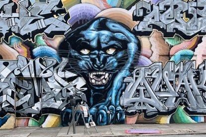 Graffiti Murals San Francisco